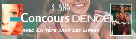Concours Editions Denoël