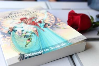 Anthologie des Imaginales 2016 ©La tête dans les livres